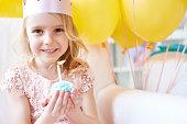 Adorable girl's birthday