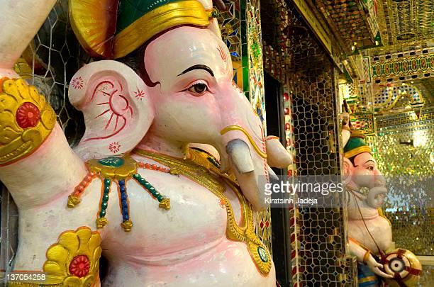 Adorable Idol Of Hindu Lord - Ganesha