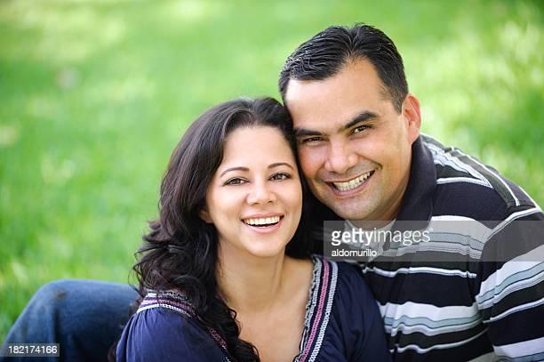 Adorable latin couple