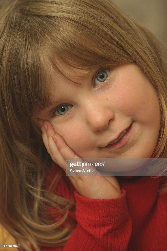 Adorable Special Needs Girl