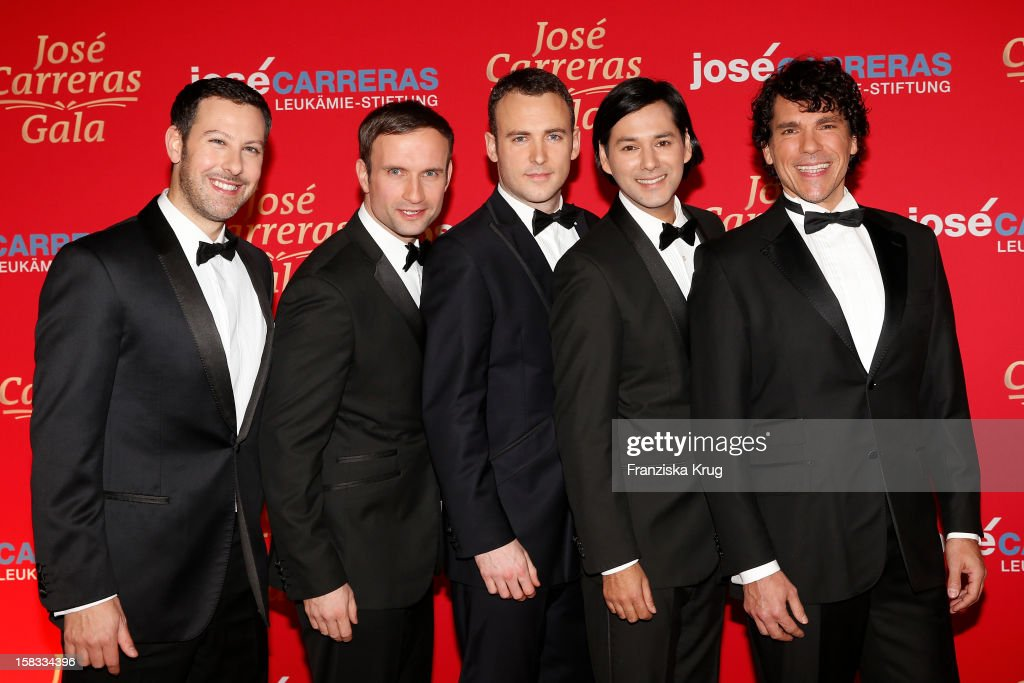Adoro attends the 18th Annual Jose Carreras Gala on December 13, 2012 in Leipzig, Germany.
