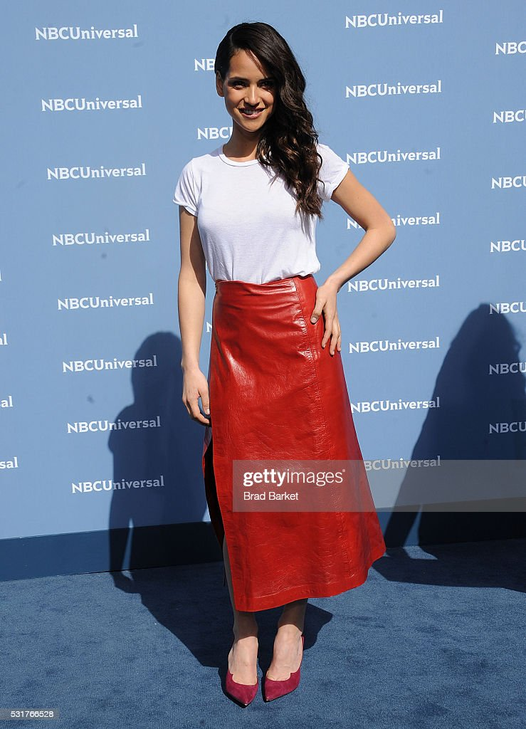 Adria Arjona attends the NBCUniversal 2016 Upfront Presentation on May 16, 2016 in New York City.