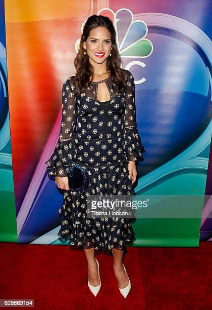 Adria Arjona attends the photo call for NBC's new series 'Emerald City' at Universal Studios Backlot on December 9 2016 in Universal City California