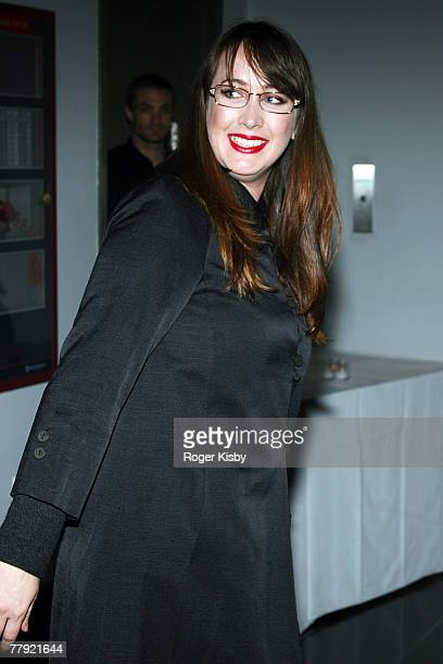 Adria Petty arrives at the launch of 'Tom Petty And The Heartbreakers Runnin' Down A Dream' coffee table book at Milk Studios on November 14 2007 in...