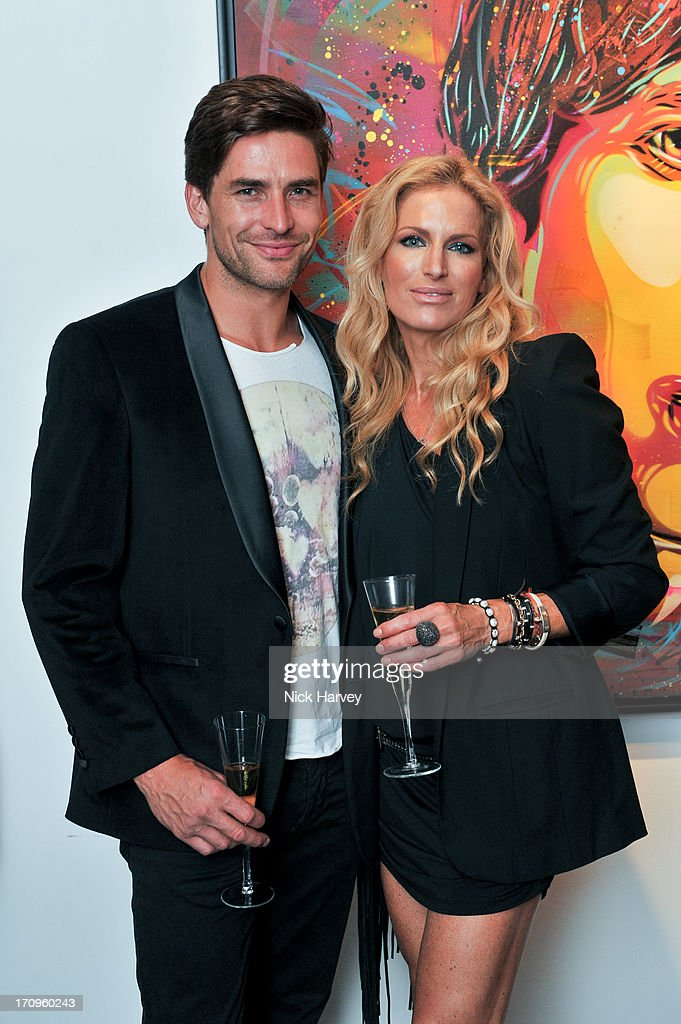 Adrian Allen and Laura Comfort attend The Many Faces Of David Bowie at Opera Gallery on June 20, 2013 in London, England.