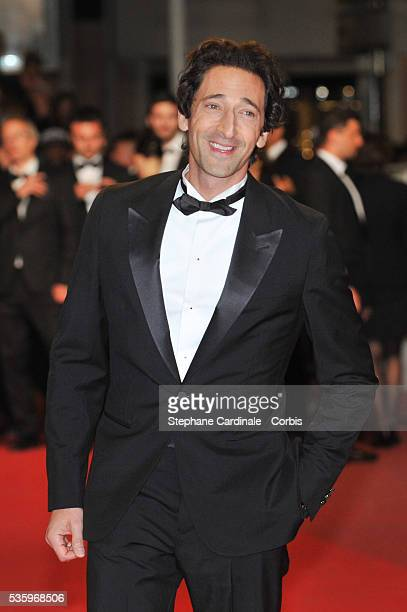 Adrian Brody at the 'Lost River' premiere during the 67th Annual Cannes Film Festival