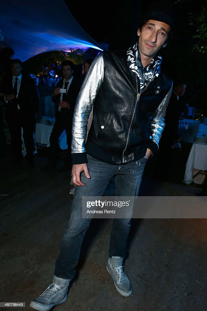 Adrian Brody attends the Puerto Azul Experience at the 67th Annual Cannes Film Festival on May 21, 2014 in Cannes, France.