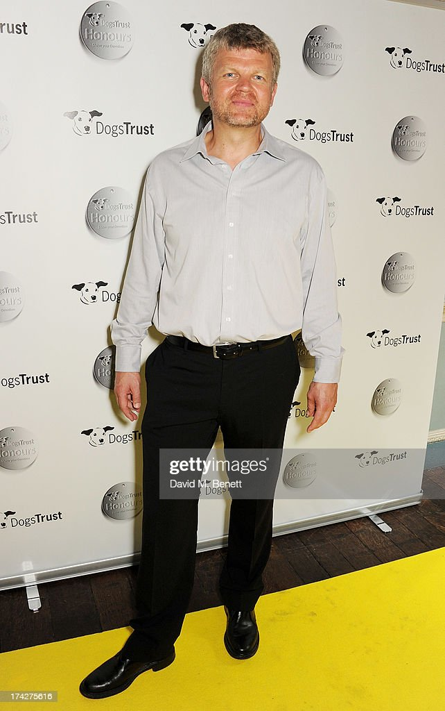 Adrian Chiles attends the Dogs Trust Honours held at Home House on July 23, 2013 in London, England.