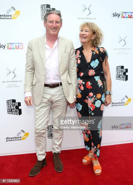 Adrian Dunbar and Anna Nygh attending The Southbank Sky Arts Awards 2017 at The Savoy Hotel on July 9 2017 in London England