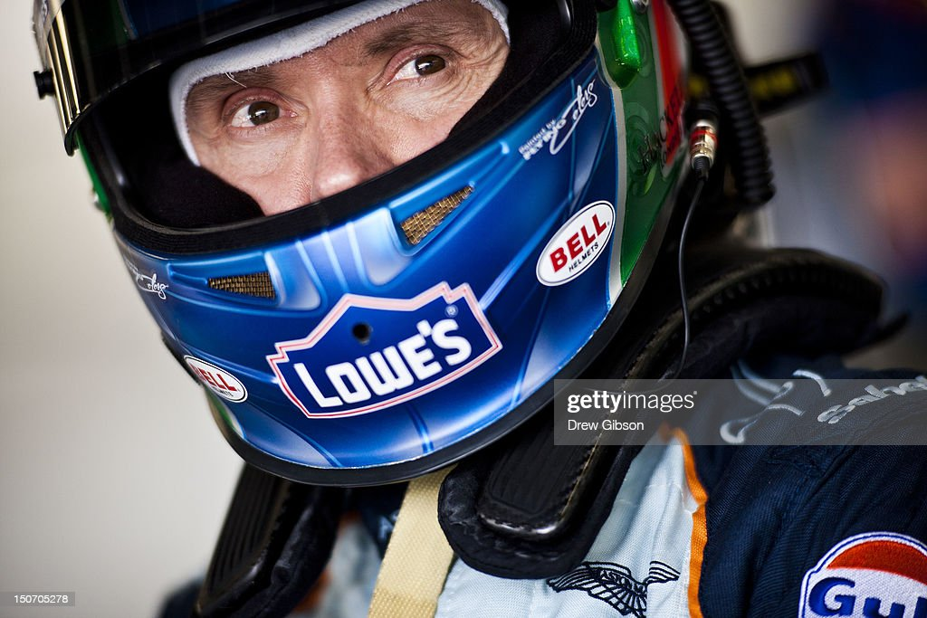 <a gi-track='captionPersonalityLinkClicked' href=/galleries/search?phrase=Adrian+Fernandez&family=editorial&specificpeople=167077 ng-click='$event.stopPropagation()'>Adrian Fernandez</a> of Mexico, driver of the Aston Martin Racing Aston Martin Vantage V8 during the 2012 FIA World Endurance Championship - 6 Hours Of Silverstone near Northampton on August 24, 2012 in Silverstone, United Kingdom.