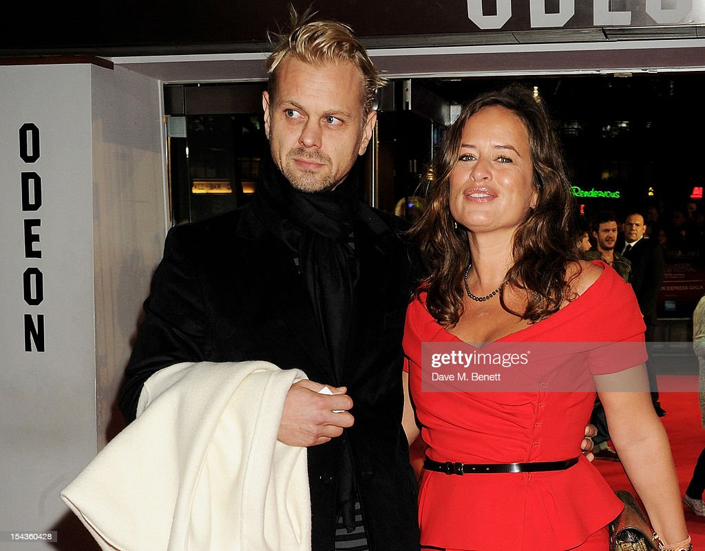 Adrian Fillary (L) and <a gi-track='captionPersonalityLinkClicked' href=/galleries/search?phrase=Jade+Jagger&family=editorial&specificpeople=203052 ng-click='$event.stopPropagation()'>Jade Jagger</a> attend the Gala Premiere of 'Crossfire Hurricane' during the 56th BFI London Film Festival at Odeon Leicester Square on October 18, 2012 in London, England.