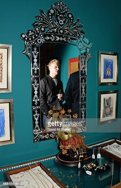 Adrian Fillary attends the launch of the new 'Jade Jagger' New Bond Street showroom on May 6 2014 in London England