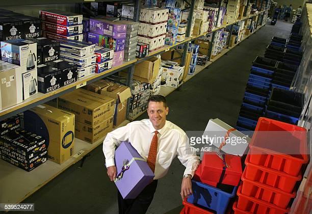 Adrian Finlayson CEO of Wishlist a dot com shopping business Taken 18 November 2004 THE AGE NEXT Picture by EDDIE JIM