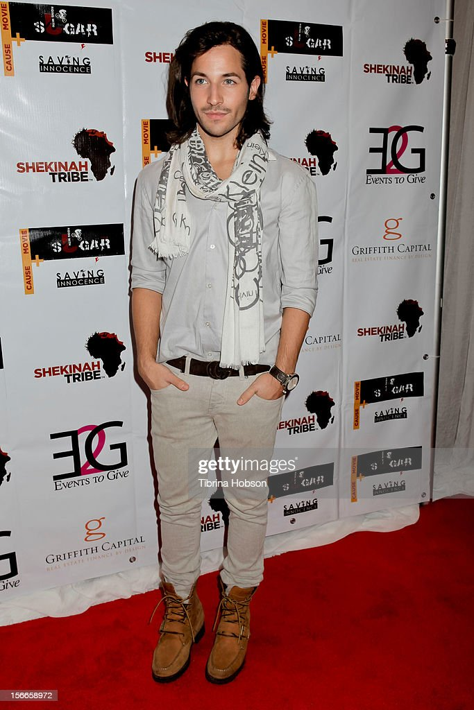 Adrian Garzon attends the Shekinah Tribe charity film fundraiser hosted by Pattie Mallette at Writers Guild Theater on November 17, 2012 in Beverly Hills, California.