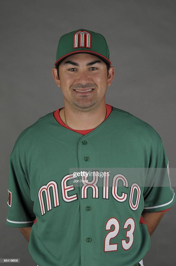 Adrian Gonzalez of team Mexico poses during a 2009 World Baseball Classic Photo Day on Monday, March 2, 2009 in Tucson, Arizona.