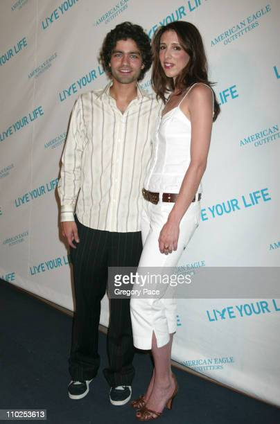 Adrian Grenier and Alexandra Kerry during American Eagle Announces Six Winners of National 'Live Your Life' Contest at Union Square Celebration...