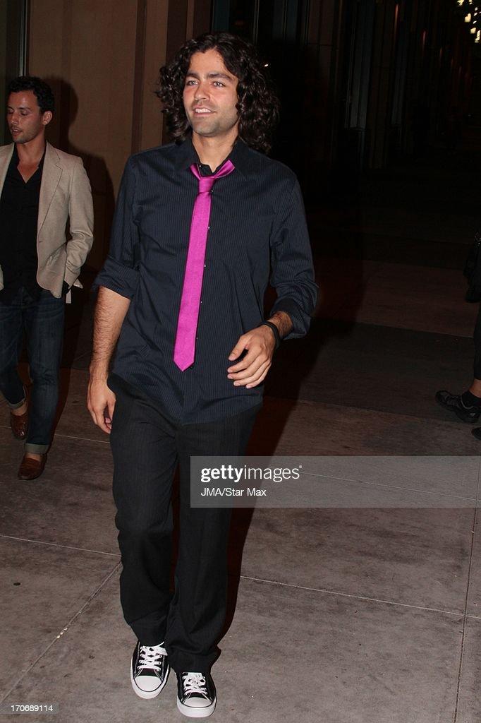Adrian Grenier as seen on June 15, 2013 in Los Angeles, California.