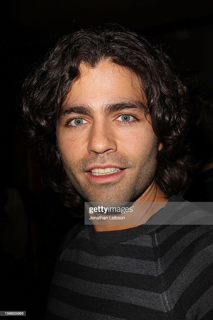 <a gi-track='captionPersonalityLinkClicked' href=/galleries/search?phrase=Adrian+Grenier&family=editorial&specificpeople=211413 ng-click='$event.stopPropagation()'>Adrian Grenier</a> at the Lil Jon Birthday Party at Downstairs Bar on January 17, 2013 in Park City, Utah.