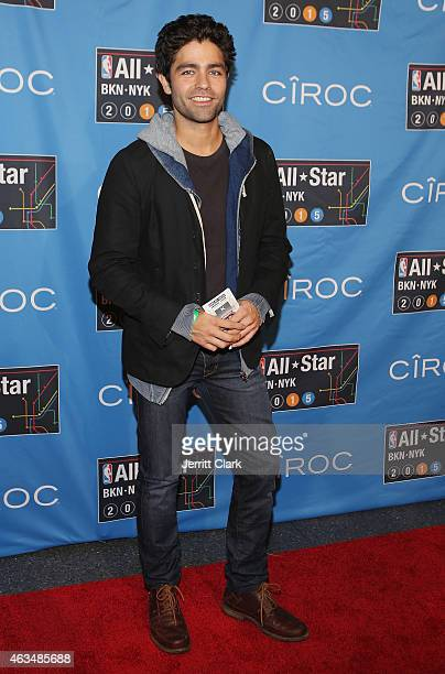 Adrian Grenier attends NBA AllStar Saturday Night Powered By CIROC Vodka at Barclays Center on February 14 2015 in New York City