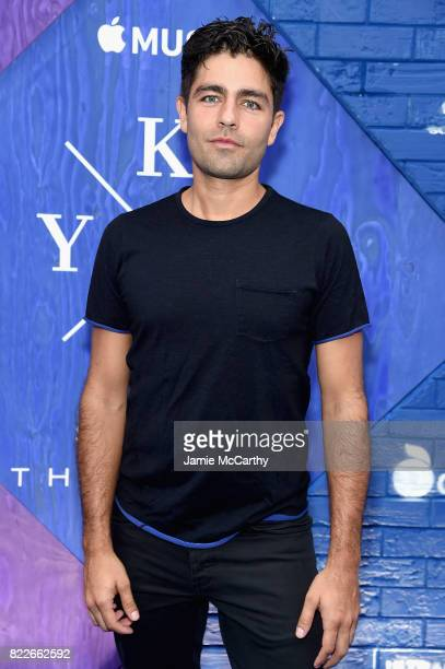 Adrian Grenier attends the Apple Music and KYGO 'Stole The Show' Documentary Film Premiere at The Metrograph on July 25 2017 in New York City