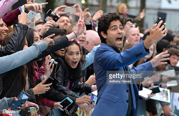 Adrian Grenier attends the European Premiere of 'Entourage' at Vue West End on June 9 2015 in London England