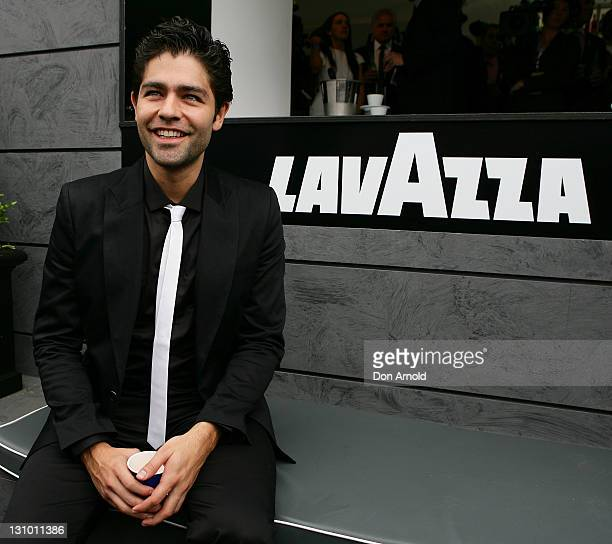 Adrian Grenier attends the Lavazza marquee during Melbourne Cup Day at Flemington Racecourse on November 1 2011 in Melbourne Australia