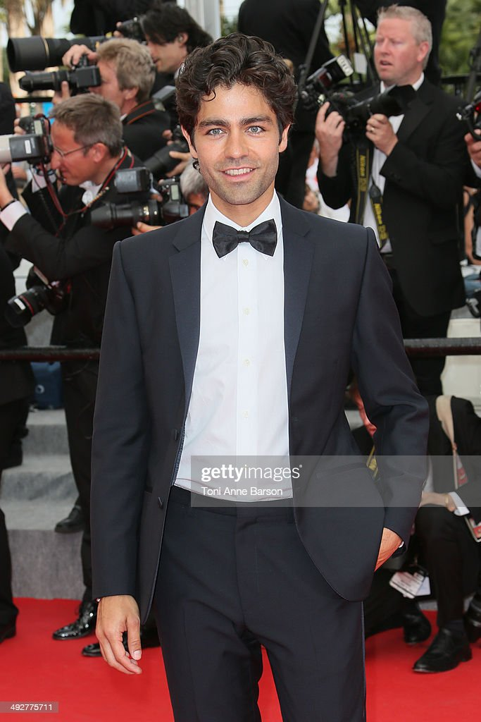 <a gi-track='captionPersonalityLinkClicked' href=/galleries/search?phrase=Adrian+Grenier&family=editorial&specificpeople=211413 ng-click='$event.stopPropagation()'>Adrian Grenier</a> attends the 'The Search' Premiere at the 67th Annual Cannes Film Festival on May 21, 2014 in Cannes, France.
