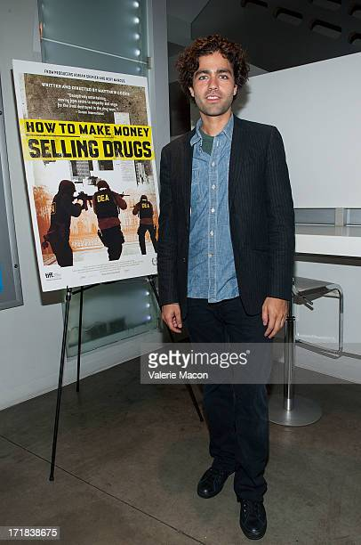 Adrian Grenier attends Tribeca Film's 'How To Make Money Selling Drugs' Opening Night And QA at The Downtown Independent on June 28 2013 in Los...