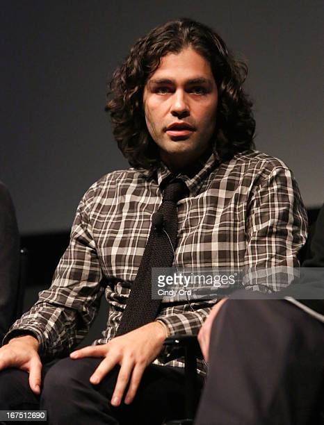 Adrian Grenier attends Tribeca Talks After The Movie Beyond The Screens 'How To Make Money Selling Drugs' during the 2013 Tribeca Film Festival on...