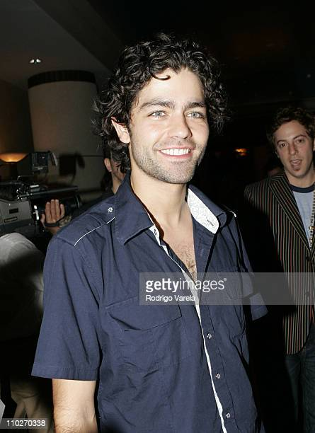 Adrian Grenier during Miami Rocks For Relief Benefiting Hurricane Katrina Victims at Lowes Hotel in Miami Beach Florida United States