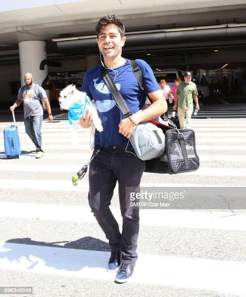 Adrian Grenier is seen on June 15 2017 in Los Angeles California