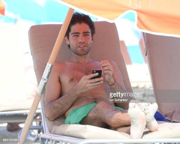 Adrian Grenier is sighted on December 6 2013 in Miami Beach Florida