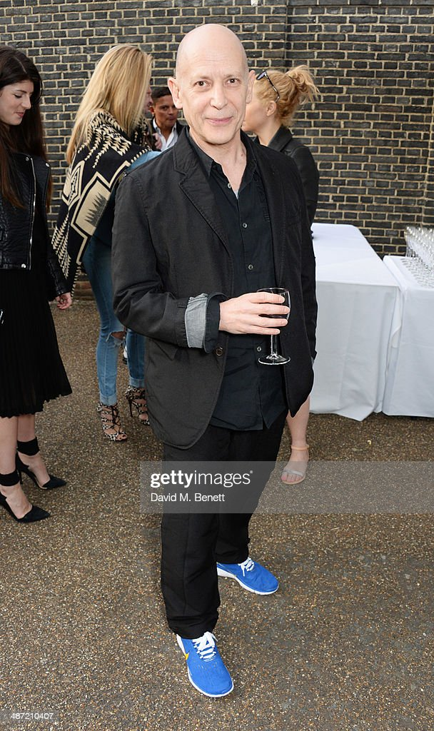 Adrian Joffe attends the launch of 'Serpentine', a new fragrance by The Serpentine Gallery and fashion house Commes des Garcons featuring bottle artwork by Trace Emin, on April 28, 2014 in London, England.