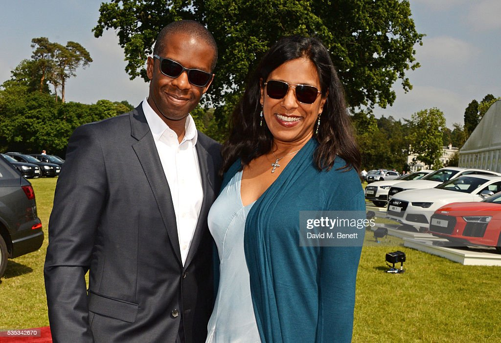 <a gi-track='captionPersonalityLinkClicked' href=/galleries/search?phrase=Adrian+Lester&family=editorial&specificpeople=215408 ng-click='$event.stopPropagation()'>Adrian Lester</a> (L) and Lolita Chakrabarti attend day two of the Audi Polo Challenge at Coworth Park on May 29, 2016 in London, England.