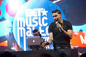 Adrian Marcel performs during BET Music Matters Presents The Showcase Brought To You By Nissan at Atlanta Event Center at Opera on August 15 2015 in...