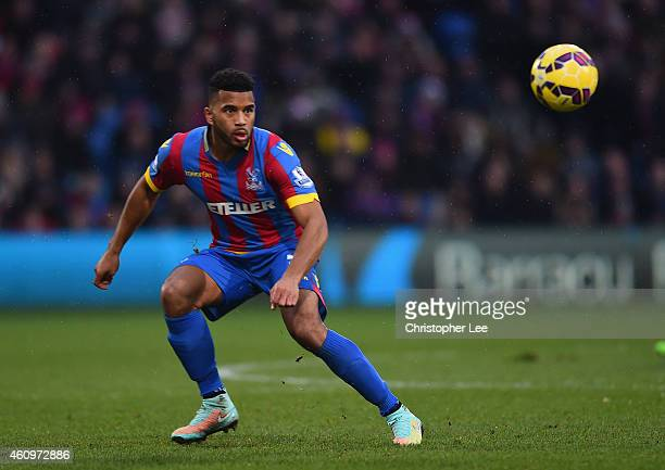 Adrian Mariappa of Crystal Palace during Barclays Premier League match between Crystal Palace and Southampton at Selhurst Park on December 26 2014 in...