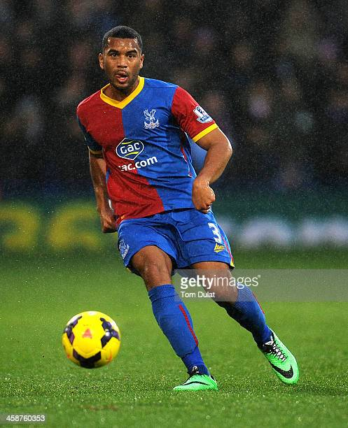 Adrian Mariappa of Crystal Palace in action during the Barclays Premier League match between Crystal Palace and Newcastle United at Selhurst Park on...