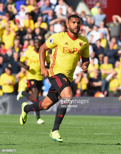 Adrian Mariappa of Watford during the Premier League match between Southampton and Watford at St Mary's Stadium on September 9 2017 in Southampton...