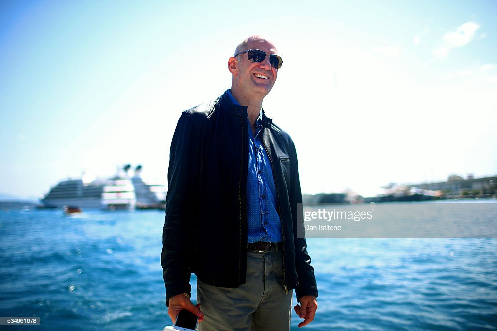 Adrian Newey the Chief Technical Officer of Red Bull Racing by the harbour during previews to the Monaco Formula One Grand Prix at Circuit de Monaco...