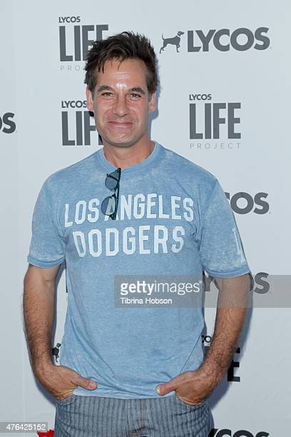 Adrian Pasdar attends the LYCOS life project launch party on June 8 2015 in North Hollywood California