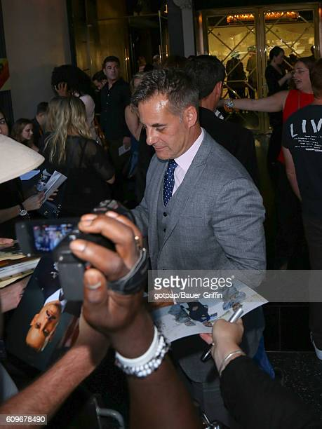 Adrian Pasdar is seen on September 21 2016 in Los Angeles California