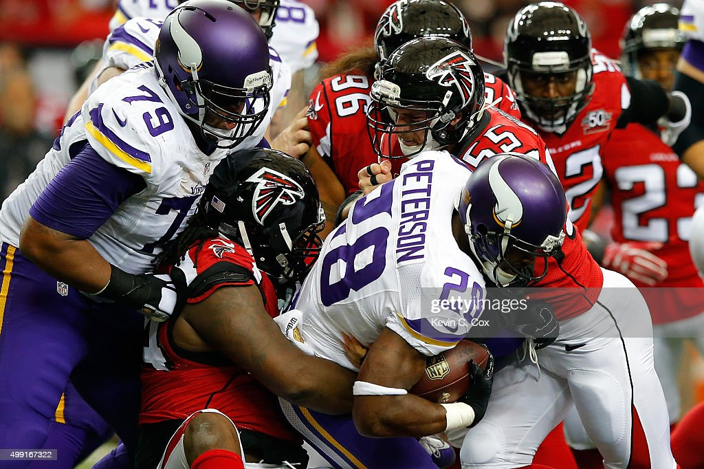 Official Nike Jerseys Cheap - Minnesota Vikings v Atlanta Falcons | Getty Images