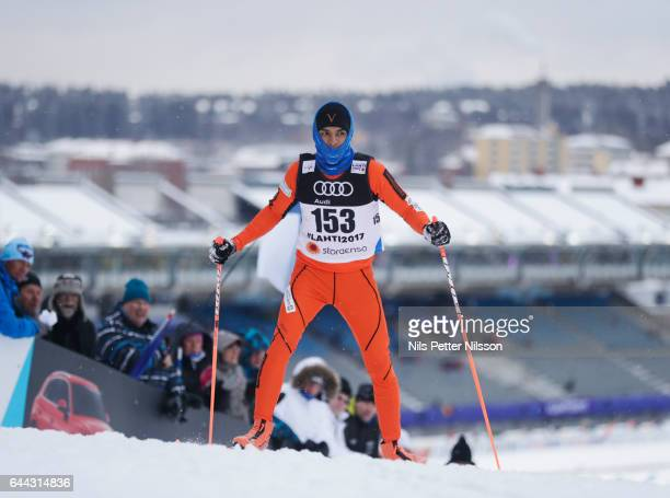 Adrian Solano of Venezuela during the cross country sprint during the FIS Nordic World Ski Championships on February 23 2017 in Lahti Finland