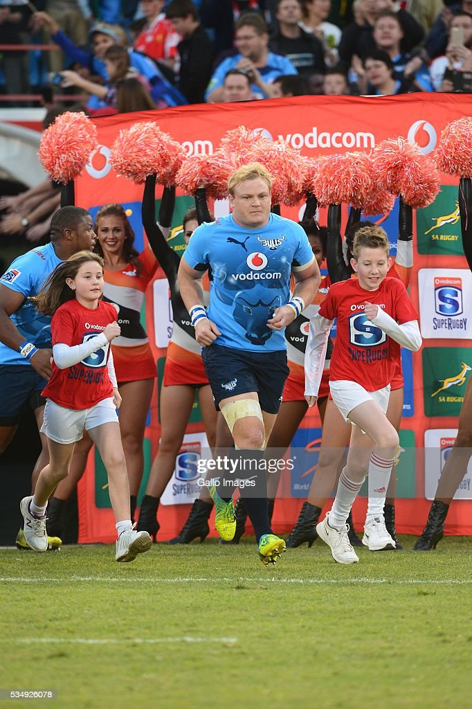 Adrian Strauss of the Bulls during the Super Rugby match between the Vodacom Bulls and Emirates Lions at Lotus Versfeld Stadium on May 28, 2016 in Pretoria, South Africa.