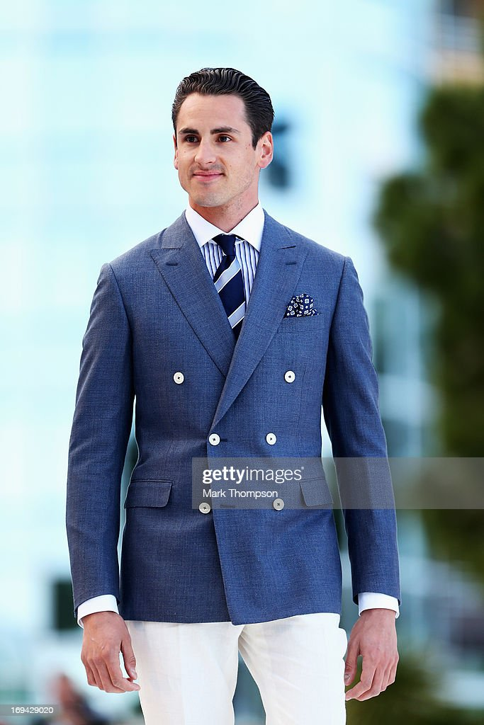 <a gi-track='captionPersonalityLinkClicked' href=/galleries/search?phrase=Adrian+Sutil&family=editorial&specificpeople=750787 ng-click='$event.stopPropagation()'>Adrian Sutil</a> of Germany and Force India attends the Amber Lounge Charity Fashion event at Le Meridien Beach Plaza Hotel on May 24, 2013 in Monaco, Monaco.