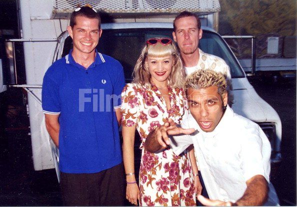 adrian young gwen stefani eric stefani and tony kanal of
