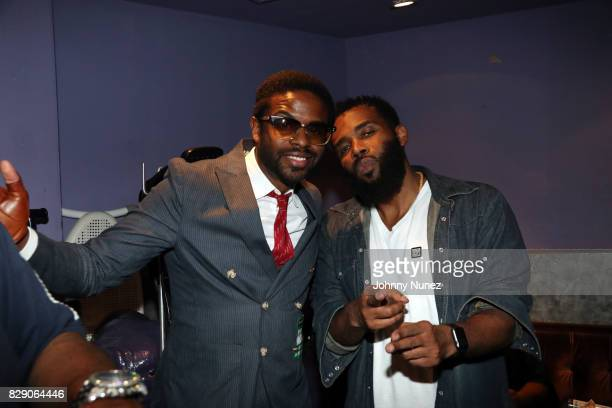 Adrian Younge and Pharoahe Monch attend Soul In The Horn 3rd Anniversary With Erykah Badu at Highline Ballroom on August 9 2017 in New York City