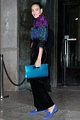 Adriana Abascal arrives at the Giorgio Armani Prive Haute Couture Spring Summer 2016 show as part of Paris Fashion Week on January 26 2016 in Paris...
