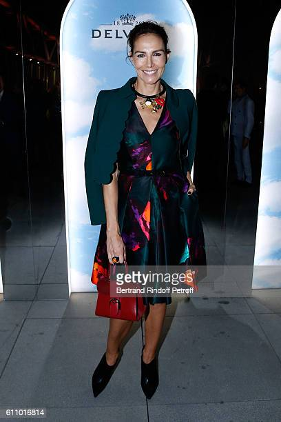Adriana Abascal attends the cocktail dinner inside Magritte Exhibition hosted by Delvaux as part of the Paris Fashion Week Womenswear Spring/Summer...