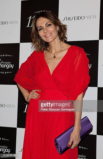 Adriana Abascal attends the Shangay Awards 2012 at Calderon Theater on March 27 2012 in Madrid Spain